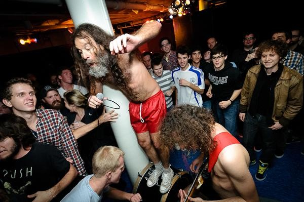 Monotonix at the Gargoyle - JASON STOFF