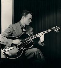 A young Mel Bay with a guitar - COURTESY OF KAREN DEAN