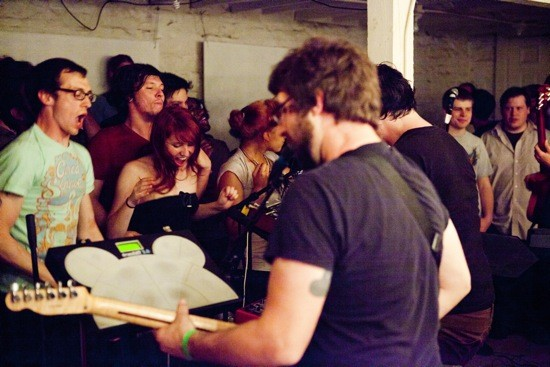 SO MANY DYNAMOS AT CRANKY YELLOW. PHOTO BY JARRED GASTREICH.