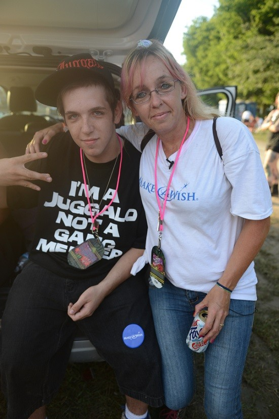 "Cody Morin and his mother, Darla. - NATE ""IGOR"" SMITH"