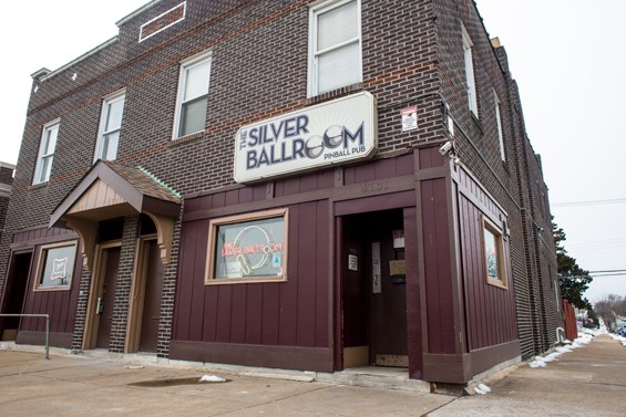 The Silver Ballroom's exterior. - JARRED GASTREICH