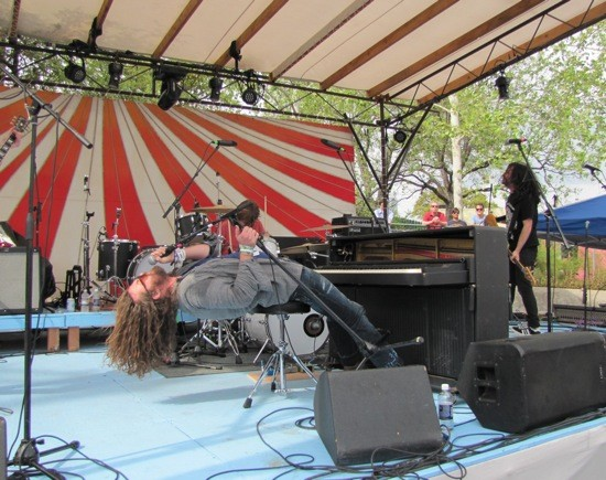 J Roddy Walston and the Business at South By San Jose at SXSW 2012 - DANA PLONKA