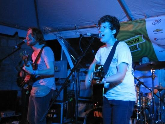 The Belle Brigade at Clive Bar at SXSW 2012 - DANA PLONKA
