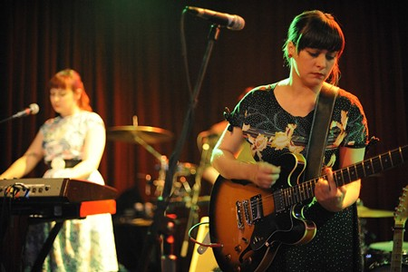 Camera Obscura last night at Off Broadway. See more photos from last night here. - PHOTO: TODD OWYOUNG