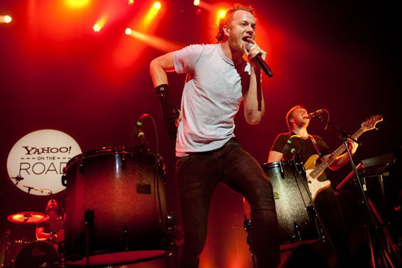 Imagine Dragons returns to St. Louis on June 12. See more pics from the band's 2013 concert with Owl City at the Pageant in this slideshow. - PHOTO BY JON GITCHOFF