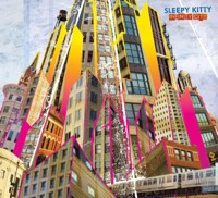 THE COVER OF SLEEPY KITTY'S UPCOMING INFINITY CITY.