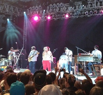 Alabama Shakes rattled and rolled Thursday night at Bonnaroo. - BUCK DENHAM
