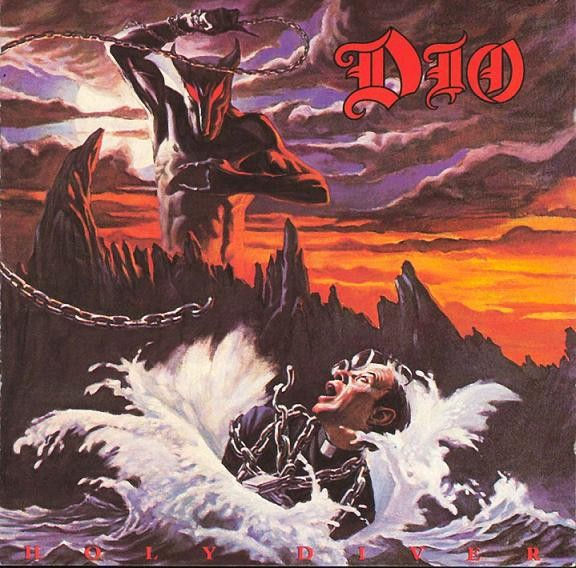 The cover of Holy Diver, starring Murray