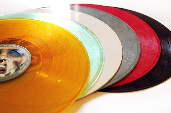 Colored vinyl LPs. - KELSEE BECKER