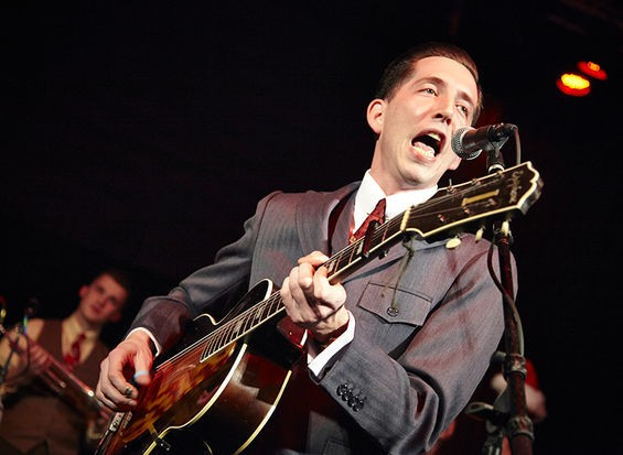 Pokey LaFarge performing live at the Casa Loma Ballroom. - STEVE TRUESDELL
