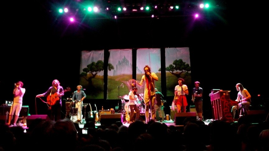 Ed Sharpe's ecclectic symphony makes pretty noises.