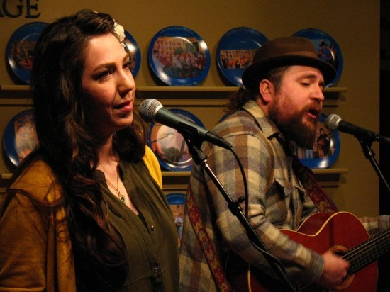 Cheryl Wilson and Cree Rider of Cree Rider Family Band - PETER SCHEFFLER