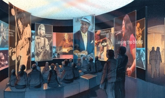 The National Blues Museum will feature plenty of exhibits and public programming. - COURTESY OF THE NATIONAL BLUES MUSEUM