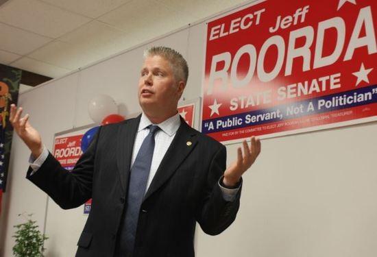 State Representative Jeff Roorda - DANNY WICENTOWSKI