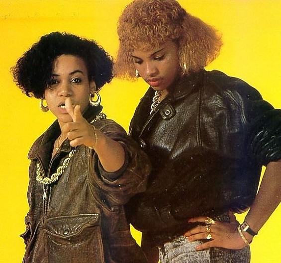 Salt N' Pepa join Biz Markie, Doug E. Fresh, MC Lyte, Kurtis Blow and Kool Moe Dee for the Legends of Hip Hop tour at Chaifetz Arena on March 12.