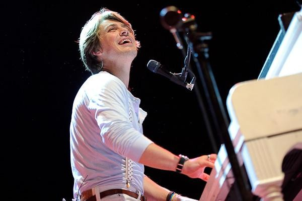 Taylor Hanson at the Pageant. View more photos here. - TODD OWYOUNG