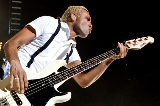No Doubt bassist Tony Kanal. Slideshow here. - KENNY WILLIAMSON