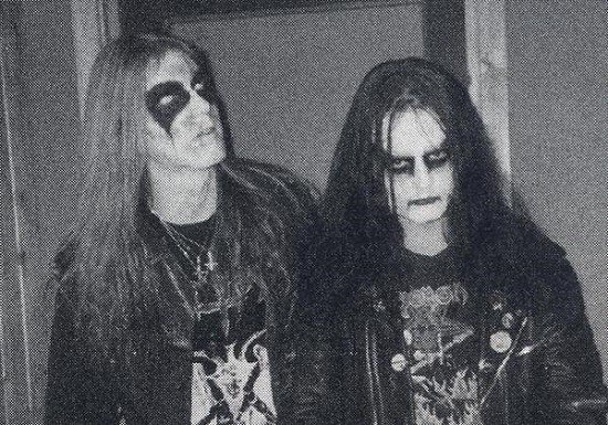 "Per ""Dead"" Ohlin and Øystein ""Euronymous"" Aarseth -- both of the band Mayhem -- occupying the tops slots of our list."