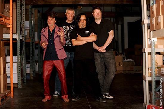 Black Flag 2013: Gregory AMoore, Greg Ginn, Ron Reyes and Dave Klein - Friday, June 21 @ Fubar