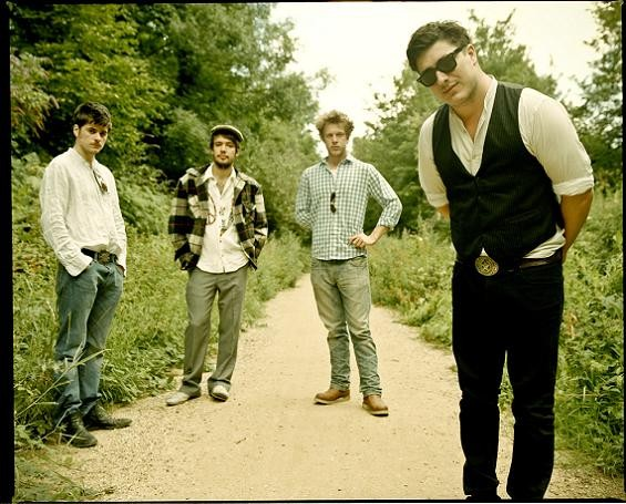 Mumford & Sons sold out Off Broadway. Aww.
