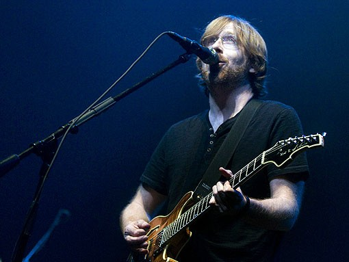 Trey Anastasio last night at the Pageant. See the full slideshow here. - PHOTO: JON GITCHOFF