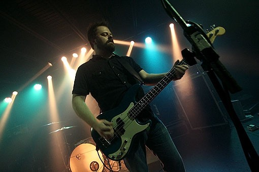 Jimmy Vavak, Riddle of Steel bassist. More photos here