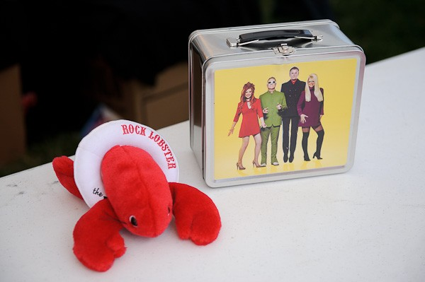 B-52s memorabilia (See a slideshow of the B-52s' performance at the Gateway Arch.) - TODD OWYOUNG