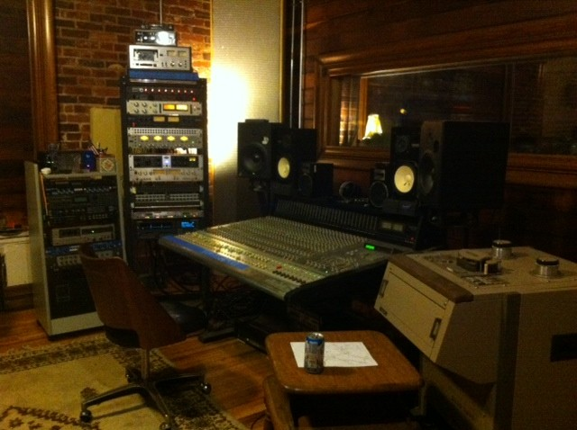 Native Sound's control room - PHOTO BY BLAIR STILES