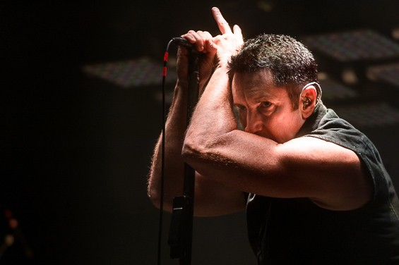 Nine Inch Nails play Chaifetz Arena on Tuesday. - ERIK HESS