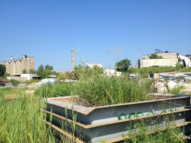 The buildings of Cementland - JAIME LEES