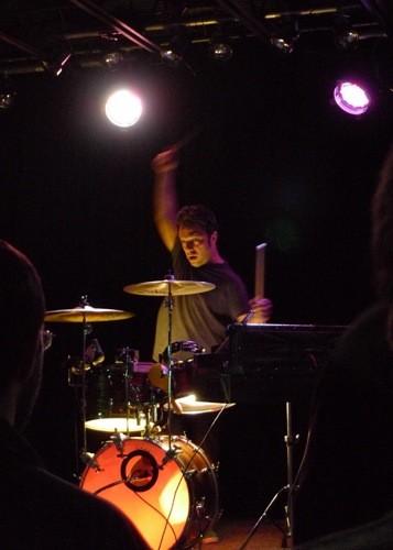 Box Elders Drummer Dave Goldberg - PHOTO BY KEEGAN HAMILTON