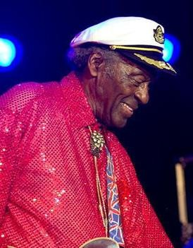 Chuck Berry at Kiener Plaza, July 29, 2010 - ERIN KINSELLA
