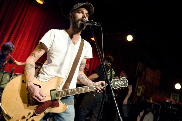 Lucero's Ben Nichols at Off Broadway - JON GITCHOFF