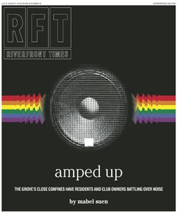 The cover of the July 31, 2014, Riverfront Times. - RFT PHOTOILLUSTRATION