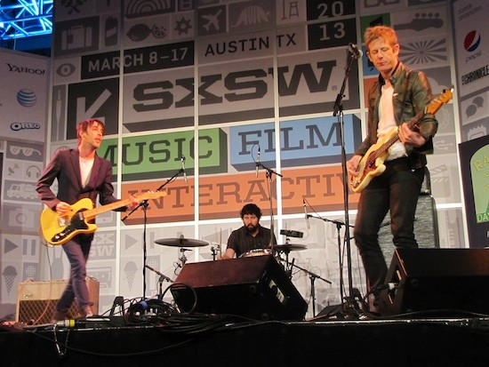 Divine Fits at SXSW - DANA PLONKA