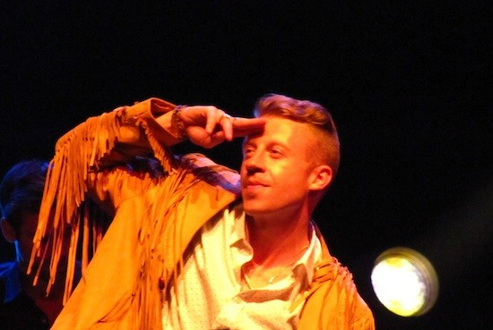 Macklemore at Perez Hilton party at SXSW - DANA PLONKA