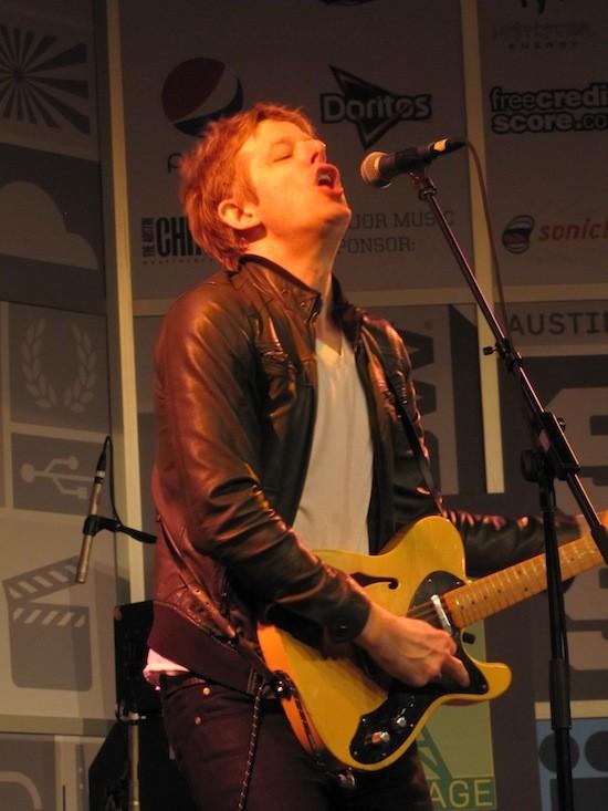 Britt Daniel of Divine Fits at SXSW - DANA PLONKA
