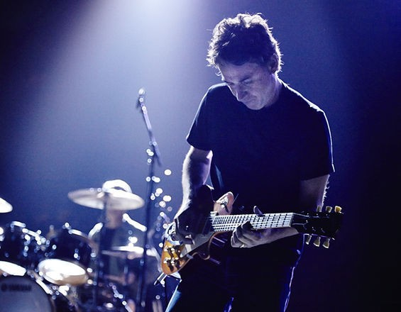 Stone Gossard performs with Pearl Jam at Scottrade Center. See more photos here. - STEVE TRUESDELL