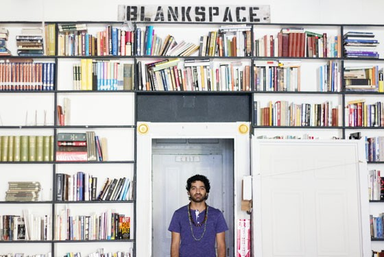 Kaveh Razani, proprietor and now full-on owner of Blank Space. - MABEL SUEN