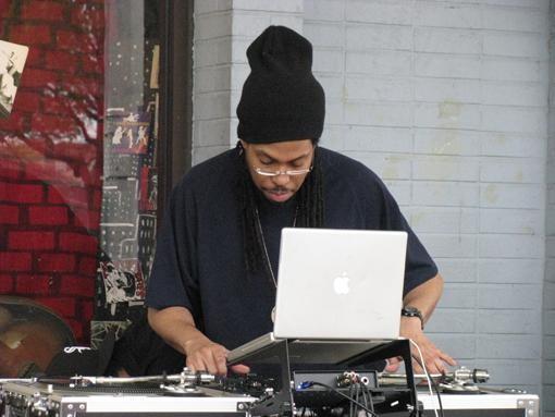 Da Fly DX, part of the Beat Street crew