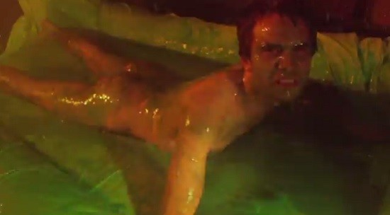 Lumpy himself, covered in slime. - SCREENSHOT FROM THE VIDEO.