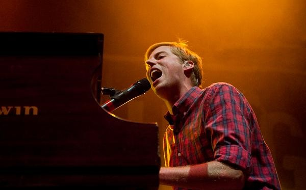 Something Corporate's Andrew McMahon, last night at the Pageant. See more photos here - ERIN KINSELLA
