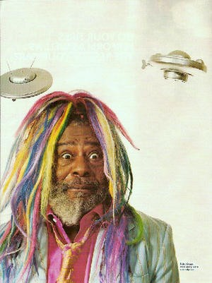 George Clinton brings the funk on Saturday.