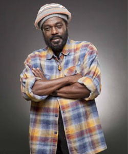 """Aston """"Family Man"""" Barrett, Marley's bass player, contines to perform with his version of the Wailers. - WILLIAM RICHARDS"""