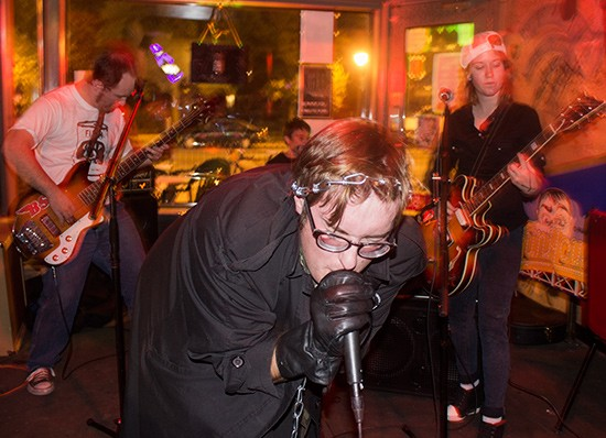 Animal Teeth at CBGB on Grand. - MABEL SUEN