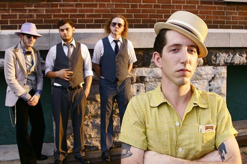 Pokey LaFarge and the South CIty Three do a holiday show - BILL STREETER