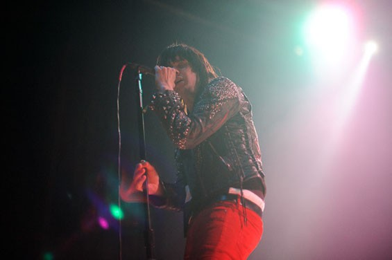 Julian Casablancas at the Pageant on 4/26. See more photos from last night's Julian Casablancas show at the Pageant. - PHOTO: TODD OWYOUNG