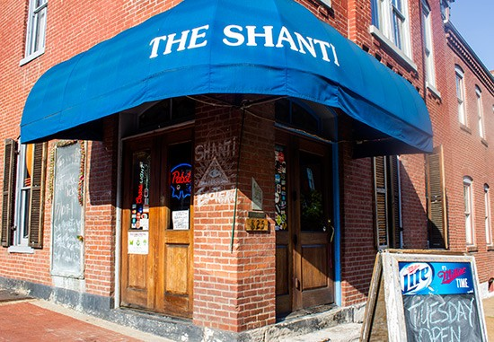 The Shanti in Soulard. - PHOTOS BY MABEL SUEN