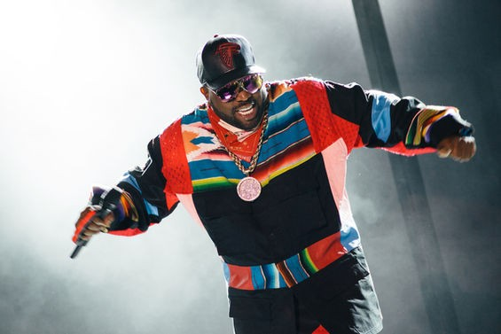 Big Boi performing at LouFest. - BRYAN SUTTER. MORE OUKAST PHOTOS IN OUR COMPLETE SLIDESHOW.