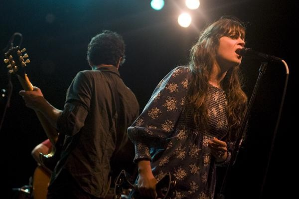 Zooey Deschanel of She & Him. More photos from day two are up. - JON GITCHOFF